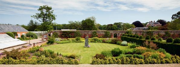 Raveningham Garden from Mound